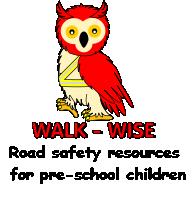 Walkwise Logo and strapline