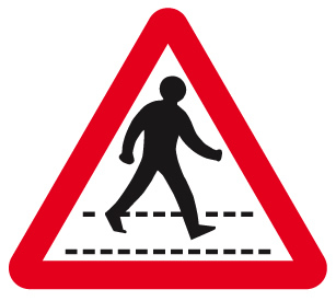 sign_pedestrian crossing