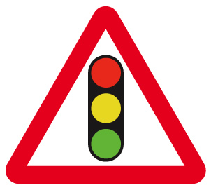 sign_traffic signals ahead