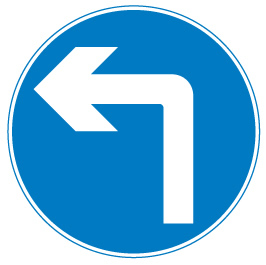 sign_turn left ahead