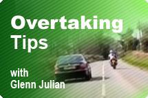 overtaking tips